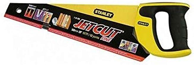 """Stanley 2-15-595""""Jet Cut"""" Fine Hand Saw, Multi-Colour, 450 mm"""