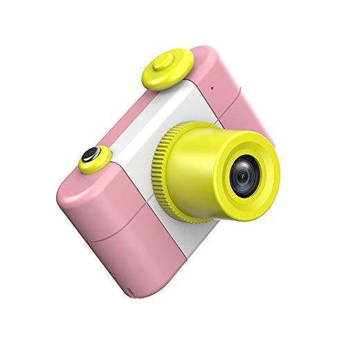 HBLWX Kinderkamera, Sportfotografie Mini-Kamera-Geschenk Umweltschutz Anti-Fallschale Reichhaltige Funktion Geeignet für Kinder von 4-10 Jahren,Pink