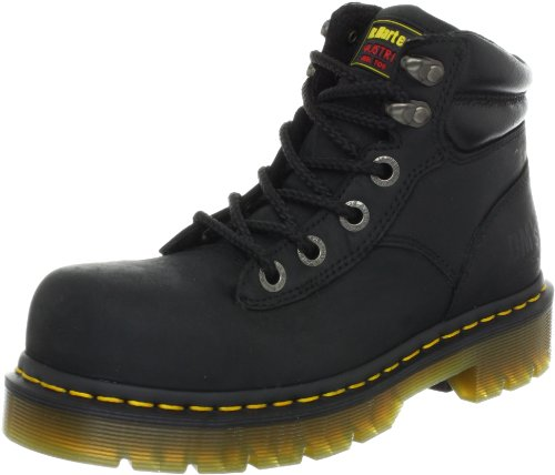 Dr. Martens Burham ST Work Boot,Black Industrial Greasy,10 UK/12 M US...