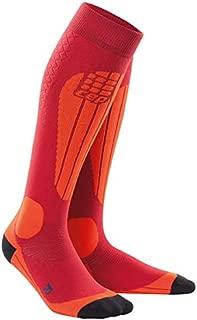CEP-Men's Thermal Compression Ski Socks Ski Thermo Socks for Performance