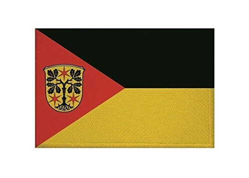 U24 Aufnäher Odenwald-Kreis Fahne Flagge Aufbügler Patch 9 x 6 cm
