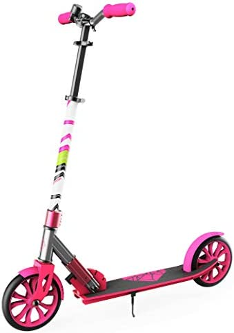 Swagtron K8 Folding Kick Scooter with Kickstand for Kids Teens XL 8 Big Wheels ABEC 9 Bearings product image