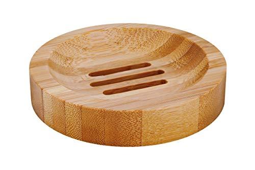 Croll & Denecke Decorative Bamboo Soap Dish Round 86g