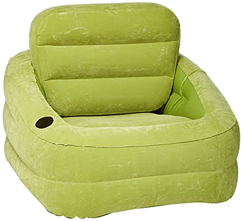 Intex 68586Sillón Accent, PVC, Verde, 97x 107x 71cm