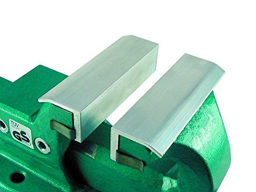 HaWe 730.15 Schonbacken mit Klemmfeder aus Aluminium, 150 mm