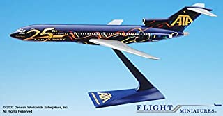 Flight Miniatures ATA American Trans Air 25th Anniversary Boeing 727-200 1:200 Scale Display Model
