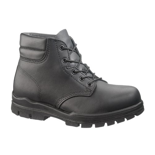 "Bates Women's 6"" US Navy DuraShocks Steel Toe Boot (11 W in Black)"