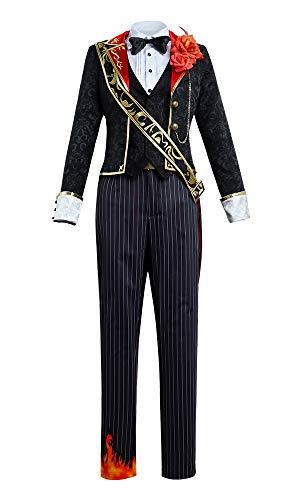 第五人格 IdentityV ビクター ポストマン ピアノの鍵 鍵盤 コスプレ衣装 (男性LL)
