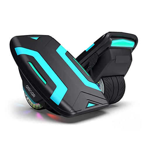 Gyroor Hoverboard Hovershoes-Gyroshoes S300 Electric Roller Skate Hoverboard with LED Lights,UL2272 Certificated Self Balancing Hovershoes for Kids and Adults