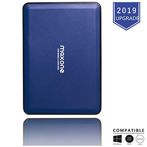 Externe Festplatte tragbare 160GB-2,5Zoll USB 3.0 Backups HDD Tragbare für TV,PC,Mac,MacBook, Chromebook, Xbox One, Wii u, Laptop,Desktop,Windows (160GB, Blue)