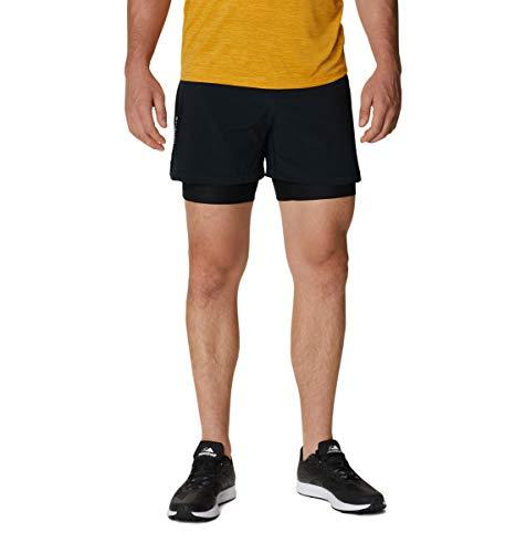 Columbia Men's Shorts, Titan Ultra II Short, Polyester, Black (Black),...