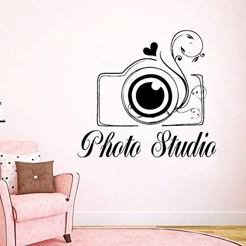 Tianpengyuanshuai creatieve fotostudio muursticker voor camera, kunst, bloemen, liefde, vinyl, decoratie voor huis, bedrijf