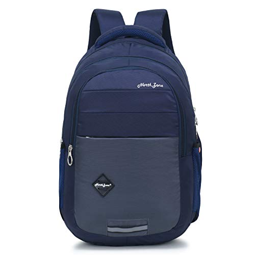 Northzone Unisex 15.6 inch 25 L Casual Waterproof Laptop/Travel/Office/School/College/Business Bag/Backpack (Navy blue)