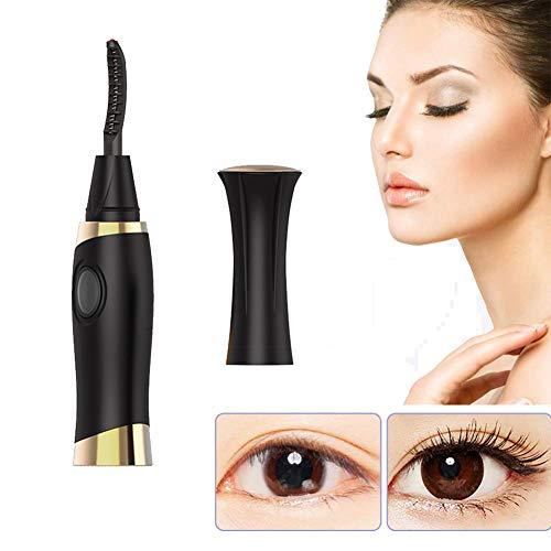 QIYE Beheizbare Wimpernzange, Wimpernzange, Eyelash Curler für wunderbar geschwungene Wimpern, schmerzfreie Alternative zur Wimpernzange, USB Wieder aufladbar