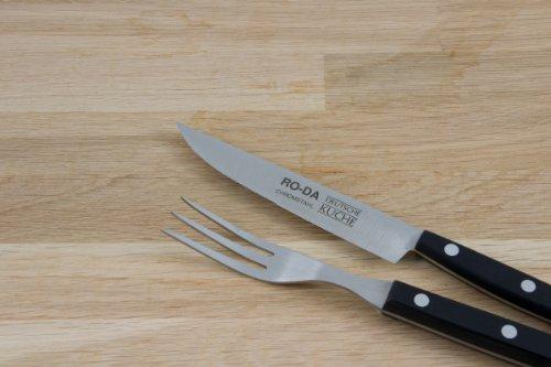 Steakmessenset Ro-Da 12 delen top design en scherpe messen
