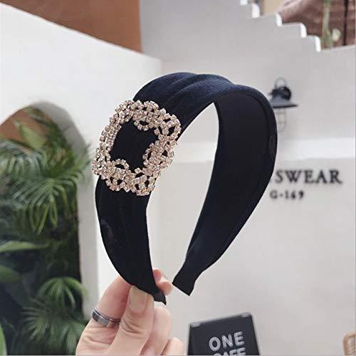 TSEINCE haaraccessoires vrouwen diamant super flash goud fluweel breedgerande hoofdband haarband meisje haarband hoofddeksels