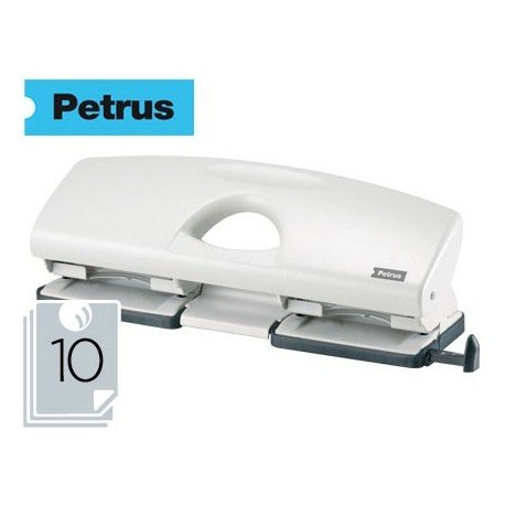 PETRUS 623359 - Taladro oficina 4 agujeros gama PERLA