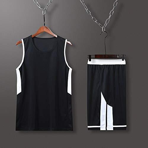 ZEH Jersey de baloncesto para hombre, para verano, deporte, baloncesto, camiseta personalizada, (color: D, tamaño: XXL), FACAI (color: E, talla: 4XL)