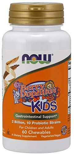 Now Foods BerryDophilus Kids - 60 chewables, 0.12 kg