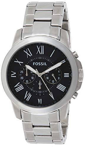 Fossil Reloj Cronógrafo para Hombre de Cuarzo con Correa en Acero Inoxidable FS4736IE