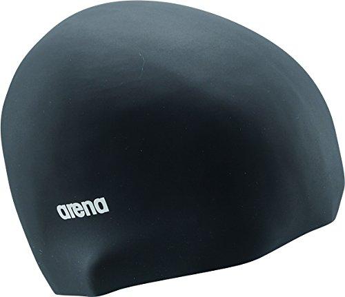 arena(アリーナ) スイムキャップ  シリコンキャップ  フリーサイズ(50~59cm) ARN-4400 ブラック(BLK)