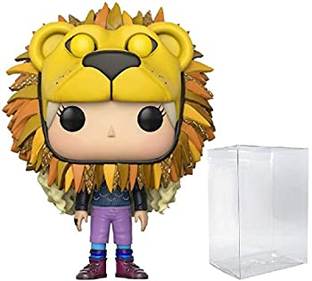 HARRY POTTER - Luna Lovegood with Lion Head Funko Pop! Vinyl Figure  Includes Compatible Pop Box Protector Case