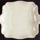 Queen's Plain Square Handled Cake Plate by Wedgwood | Replacements, Ltd.