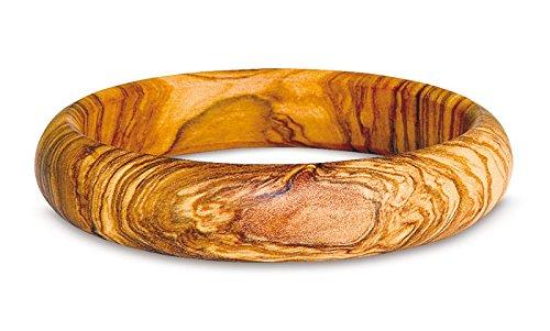 Arte Legno - Arm-Band Armreif aus Oliven-Holz (Durchmesser ca. 7 cm)