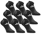 PUMA Sneakersocken 18 Paar Pack Statement Edition - Damen & Herren - Black - Gr. 35-38