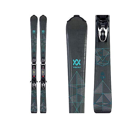 Volkl 2019 Flair 8.0 Womens Skis with FDT TP 10 Bindings - 158cm