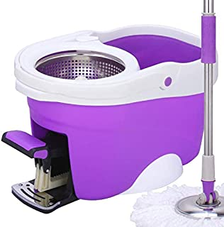 360 Top Mop Spin Easy With Pedal Bucket
