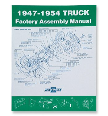 1947-54 Chevrolet Truck Assembly Manual