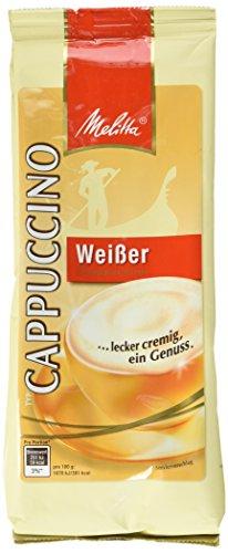Melitta Weißer Cappuccino, 6er Pack (6 x 400 g Beutel)