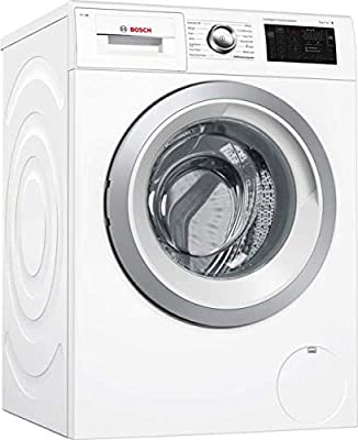 Bosch WAT286H0GB Serie 6 Freestanding Washing Machine with Home Connect, 9kg load, 1400rpm spin, White