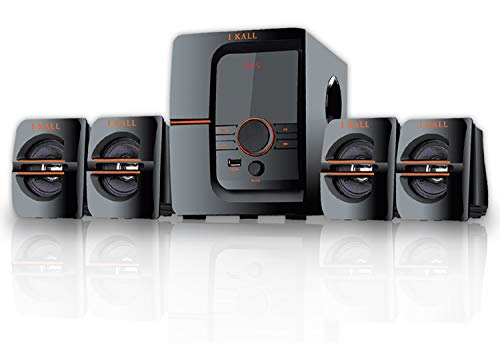 IKALL IK-401 60W Bluetooth Home Theatre System with FM/AUX/USB Support and Remote...