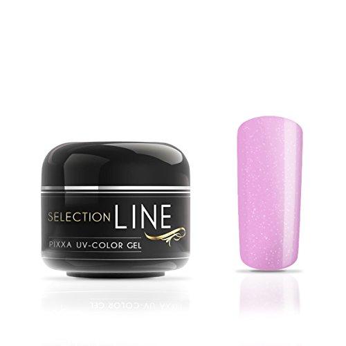 Gel couleur Selection Line Pixxa Candy Shimmer 5 ml-Gel de couleur haut de gamme pour les ongles extravagant design Nail