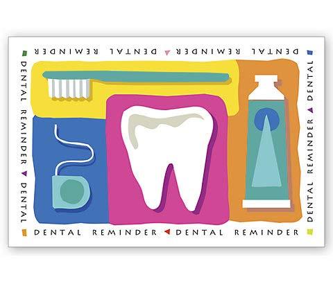 Dental Reminder Card, 200/Pk