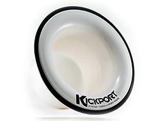 scheda kickport bass drum port (white)