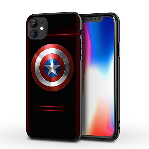 Comics iPhone 11 Case Full Body Protection Cover Cases (Captain-America)
