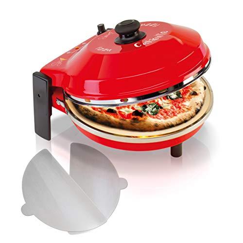 SPICE - Forno Pizza DIAVOLA e CALIENTE con pietra...