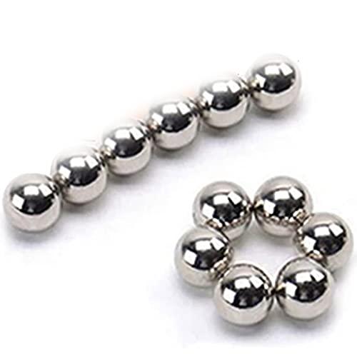 ボディクランプ一時的なユニークな非ピアス磁気ニップルボールユニークな非ピアスマグネットニップルボール,銀,8PCS
