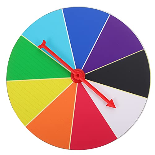 Amosfun Premio di Filatura Ruota Montaggio A Parete Casuale Lotteria Gioco Ruota Win Fortuna Lotteria Gioco per La Fiera di Carnevale del Partito di Casino di Mercato 20 Centimetri