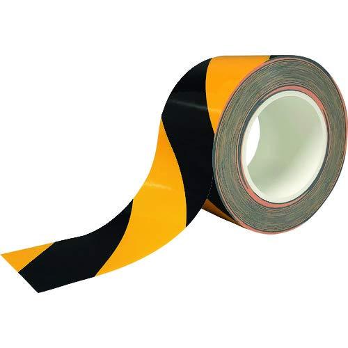 ニトムズ 耐久ラインテープDLT-NEO75x50黒/黄 Y6073