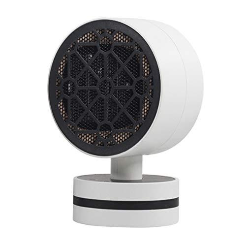 Calefactor de bajo consumo cerámico PTC con calefacción de cerámica PTC, calentamiento por batiente, seguro y antiquemaduras, descarga, color blanco