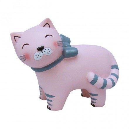Mini veilleuse lampe chat rose pour chambre d'enfants - House of Disaster - LEDCATBOW