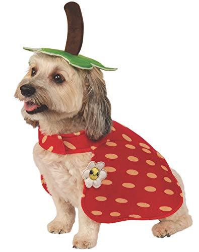 Rubie's aardbei huisdier kostuum, klein