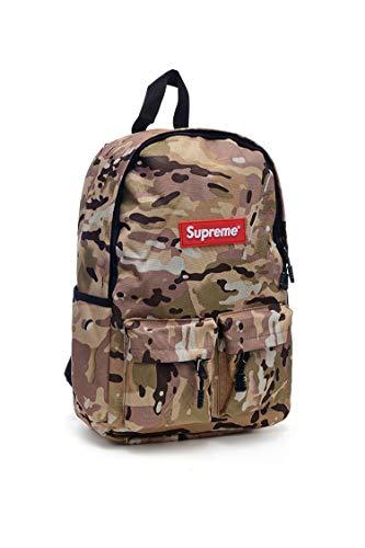 Supremes Unisex Rucksack Tasche Laptoptasche Tasche Backpack (Brown)