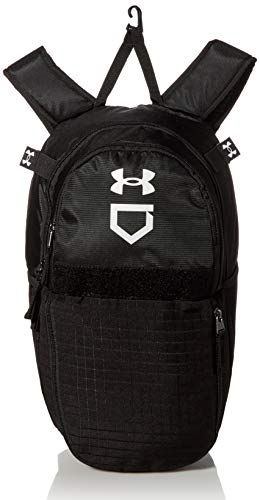 Under Armour Men's Ace T-Ball Backpack , Black (001)/White , One Size Fits All