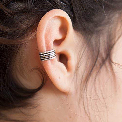 Silber Ohr Manschette - Silber Ohr Wrap - Silber Ohrringe - Wrap Ohrringe - Knorpel Hoop - Earcuff Schmuck - Piercing Schmuck