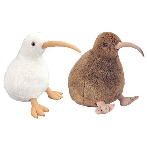 sharprepublic 2 Piezas de Peluche Suave Pájaro de Peluche Animal de Peluche Muñeca Niños Regalos de Cumpleaños